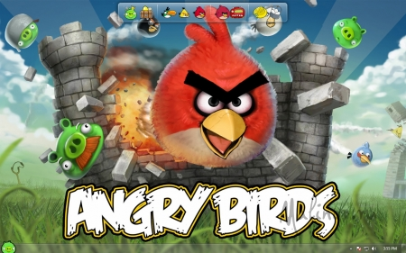 Angry Birds by Customan