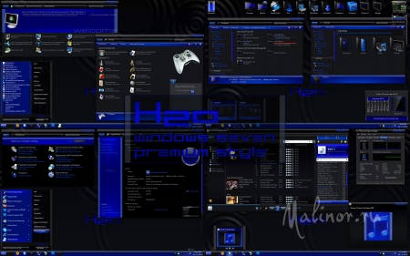 H2O Premium Theme Pack By Mr GRiM