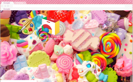 Candy Chrome Theme