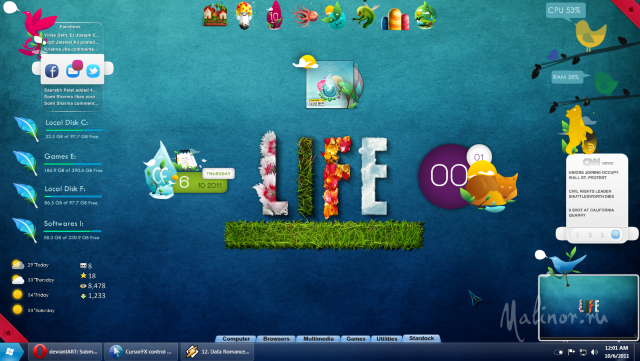 Nature Life for Windows 7