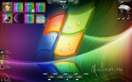 AKR Rainbowz for Windows 7