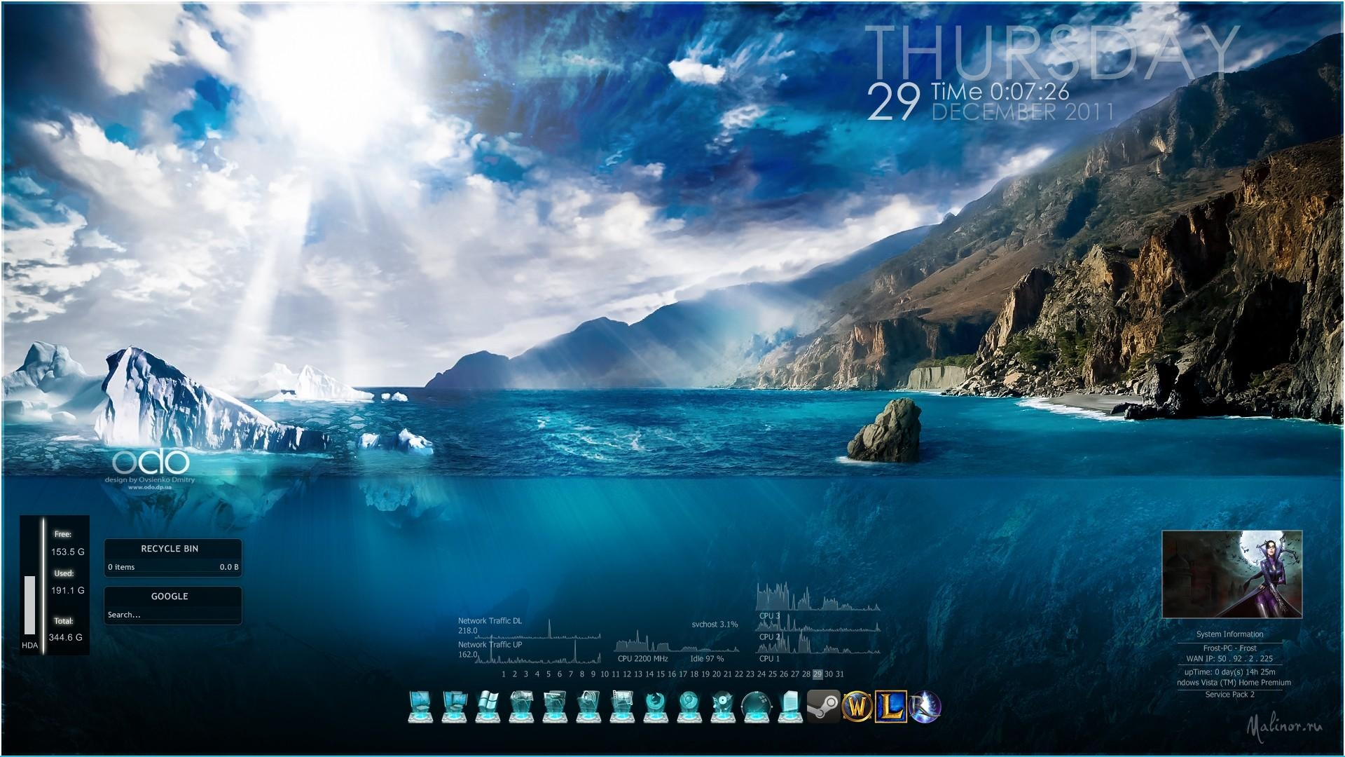 Windows 7 Wallpapers Nordic Landscapes 13  Wallpaper