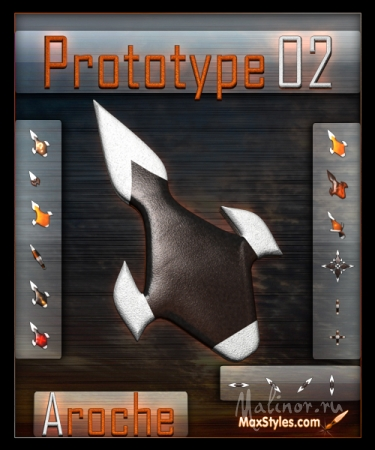Prototype 02 cursors by Aroche