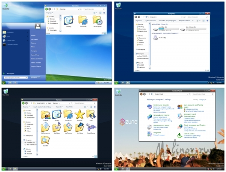 XP skin pack for win8