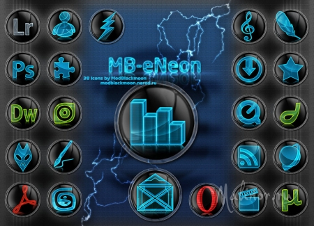 MB eNeon Icons