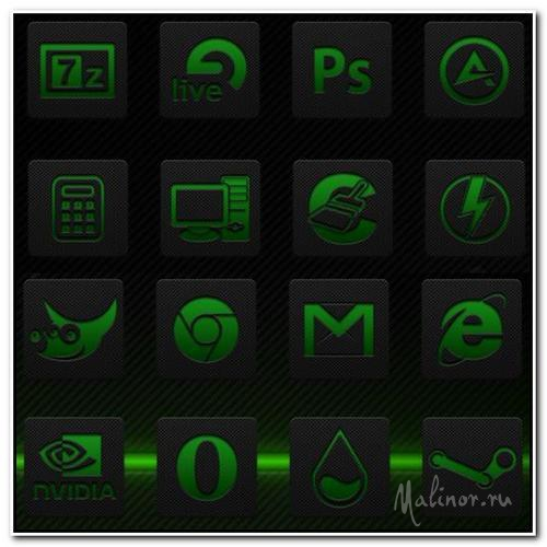 iaD Useful Green Icons Pack