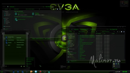 Nvidia Resurrection - Тема для Windows 7