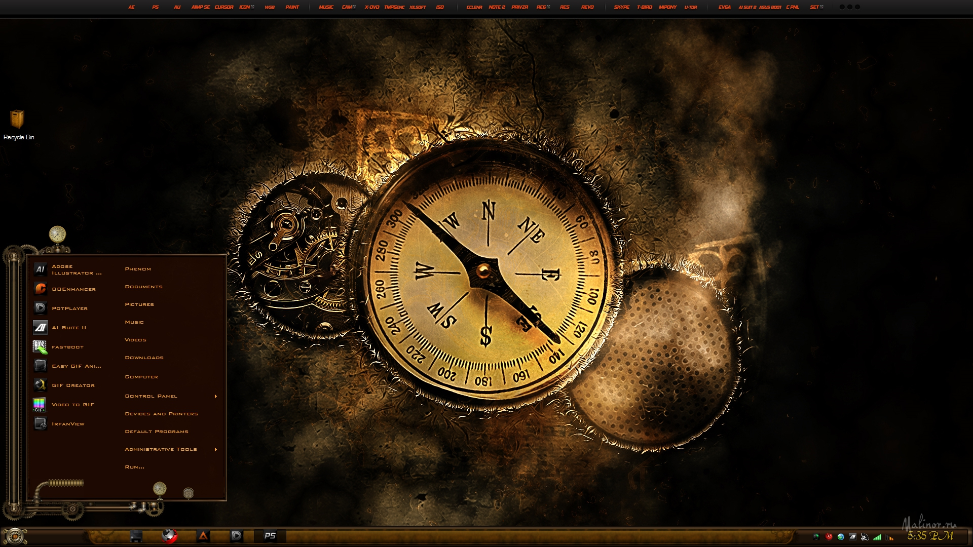 Steampunk - ���� ��� Windows 7