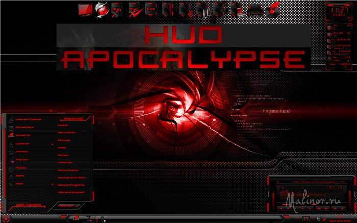 HUD Apocalypse - Тема для Windows 8
