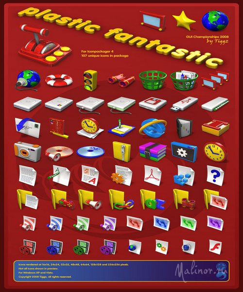 Plastic Fantastic Iconpackager